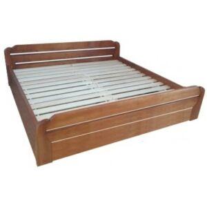 Szilvia bükk ágyneműtartós ágykeret rugalmas ráccsal