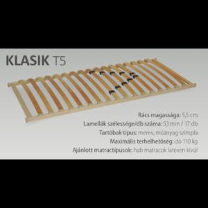 Klasik T5 (17) ágyrács
