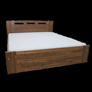 Alta ágyneműtartós fenyő ágykeret