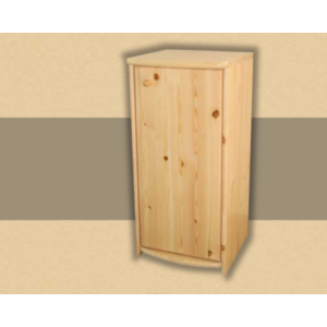 Anita 1 ajtós 73cm magas komód