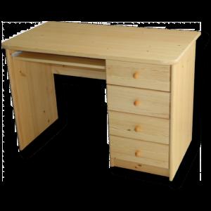Zsolt íróasztal 4 fiókos