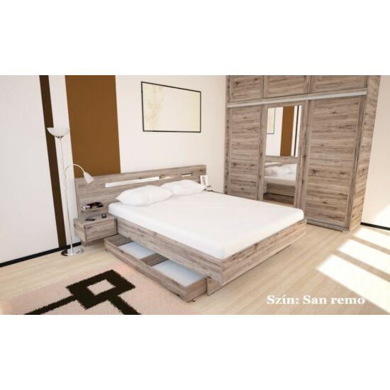 André ágykeret alá gurítható ágyneműtartóval 160x200