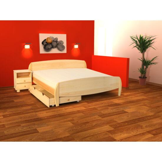 Ágnes borovi fenyő ágy 90x200