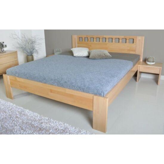 Léna bükk ágyneműtartós ágykeret fix ráccsal 90x200