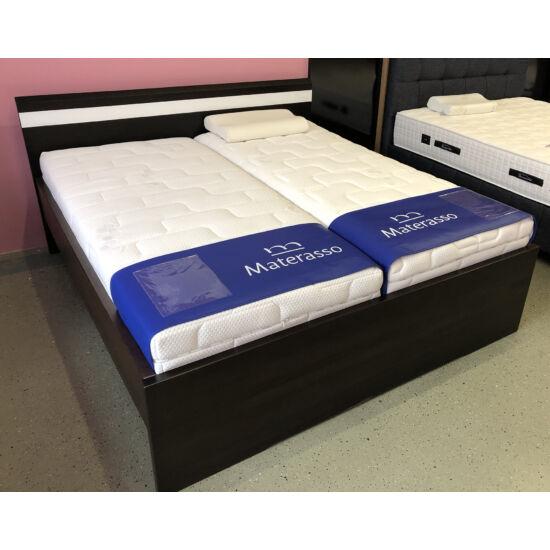 Mónika bükk ágyneműtartós ágykeret fix ráccsal 90x200