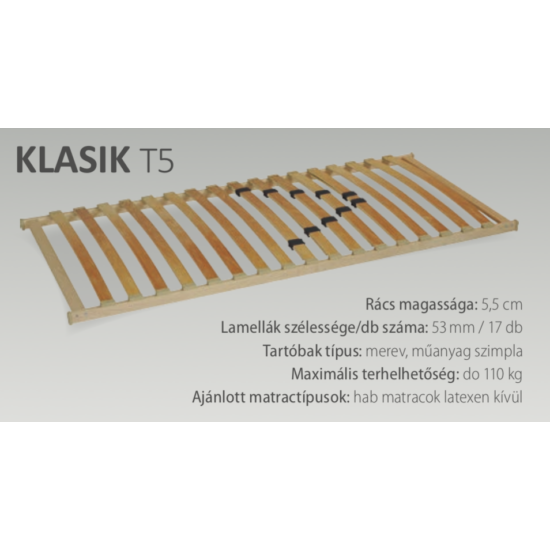Klasik T5 (17) 80x200