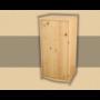 Kép 1/2 - Anita 1 ajtós 73cm magas komód natúr lakkozott