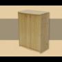 Kép 1/2 - Anita 2 ajtós, 90cm magas komód natúr lakkozott