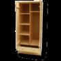 Kép 3/4 - Tamás 2 ajtós 2 fiókos akasztós polcos szekrény